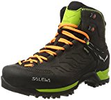 Salewa Men's Herren Mtn Trainer Mid Gore-Tex Bergschuh High Rise Hiking Shoes, Black