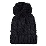 Knitting Wool Warm Hat Plus Velvet- iParaAiluRy Unisex Fashionable Soft Cannabis Cap Beanie Hat in Winter and Spring