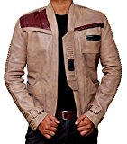 Star Wars Force Awakens Finn Wax Jacket Costume - John Poyega Poe Dameron Pilot Jacket