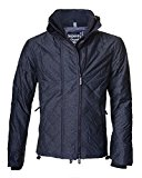 Mens Superdry Quilted Arctic Windcheater in Black Marl