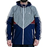 Adidas Skateboarding Colorado Nautical Mystery Blue Red Grey Zip Hooded Jacket