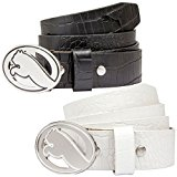 Puma Golf Mens Regent Croc Fitted Leather Strap Golf Belt