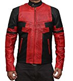 Deadpool Jacket Costume - Red and Black Ryan Reynolds Jacket
