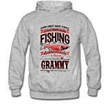 Icoup Men's FISHING GRAMMY Fleece Hoodie