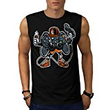 Ultimate Game World Lad Life Men NEW Black White Grey Red Navy S-2XL Sleeveless T-shirt | Wellcoda