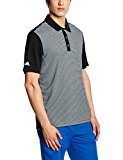Adidas Men's Climachill Heather Stripe Polo Shirt