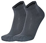 Tobeni 6 pairs of bamboo short socks without elastic for men and women