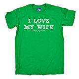 ILWMW - Men's I Love It When My Wife Tennis T-SHIRT Funny Birthday Casual Christmas Tee