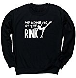 HippoWarehouse My Home is at the Rink unisex jumper sweatshirt pullover