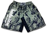 Camo Printed Bodybuilding Knee Length Shorts Workout Gym Clothing C-14