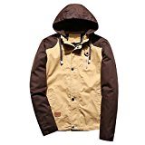 WALK-LEADER Men's Autumn Outdoor Leisure Hoodies Hooded Jacket