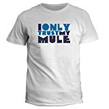 Idakoos I only trust my Mule - Animals - T-Shirt