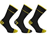 12x Pairs of Mens 'Stanley' STRONG Professional Worker Socks / UK 6-11 Eur 39-45
