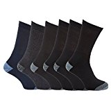 6 Pairs of Mens 'Erbro Workwear®' Heavy Duty Ultimate Work Boot Socks / UK 6-11 Eur 39-45